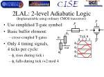 2lal 2 level adiabatic logic