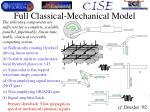 full classical mechanical model