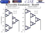 reversible emulation ben89