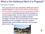 what is the intellectual merit of a proposal13