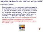 what is the intellectual merit of a proposal16