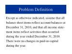 problem definition1