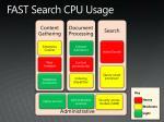 fast search cpu usage