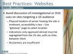 best practices websites