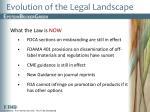 evolution of the legal landscape3