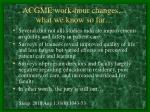 acgme work hour changes what we know so far