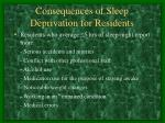 consequences of sleep deprivation for residents2