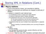 storing xml in relations cont1