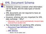 xml document schema1