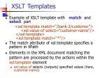 xslt templates