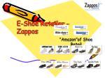 e shoe retailer zappos