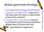 global operations strategy2