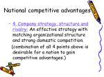 national competitive advantages1