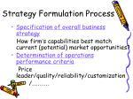 strategy formulation process1