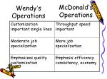 wendy s operations1