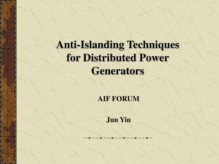aif forum jun yin n.