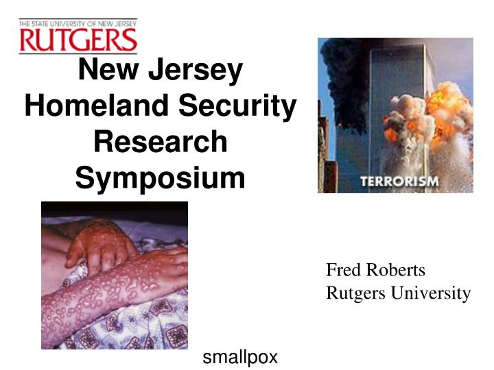 new jersey homeland security research symposium n.