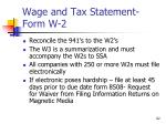 wage and tax statement form w 214
