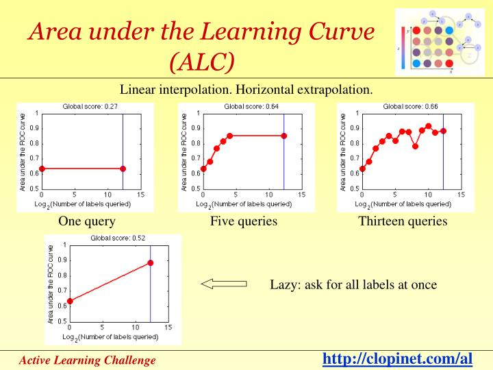 Area under the Learning Curve