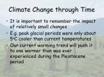 climate change through time13