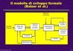 il modello di sviluppo formale balzer et al
