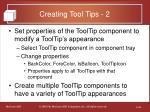 creating tool tips 2