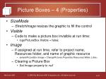picture boxes 4 properties