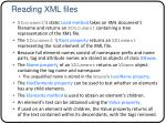 reading xml files1