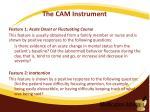 the cam instrument3