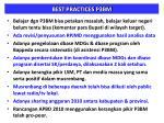 best practices p3bm