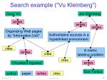 search example vu kleinberg
