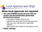 local approval and ceqa3