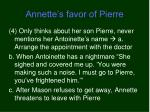 annette s favor of pierre