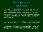 christophine and her powers