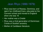 jean rhys 1890 19791