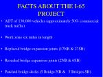 facts about the i 65 project