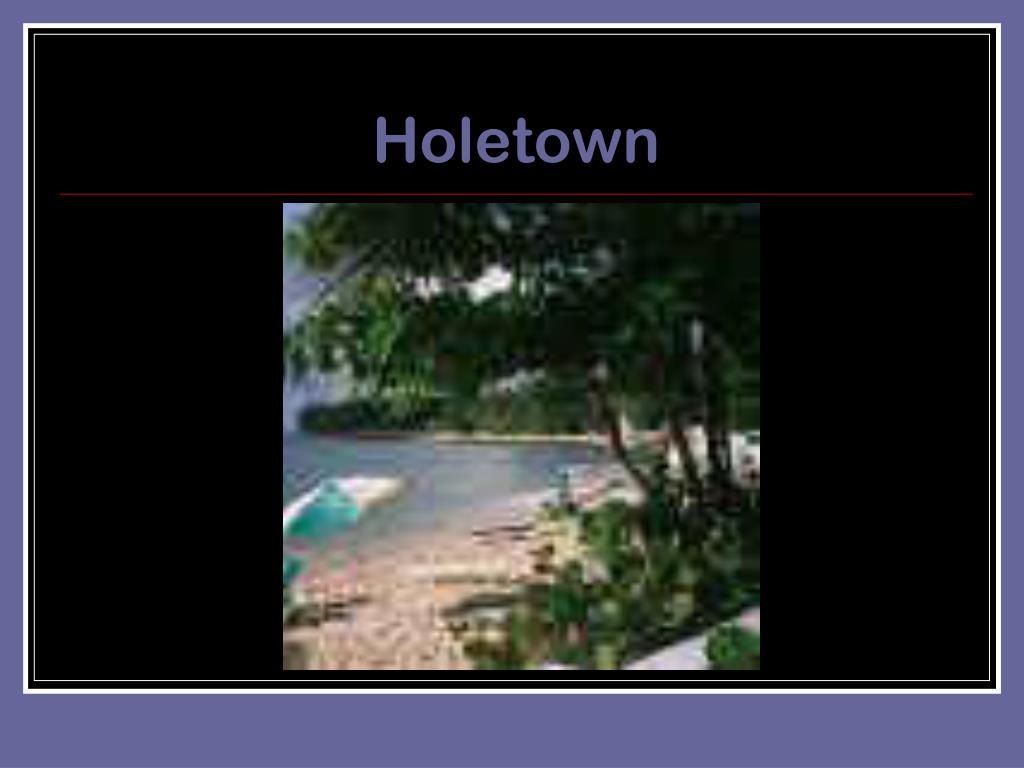 Holetown