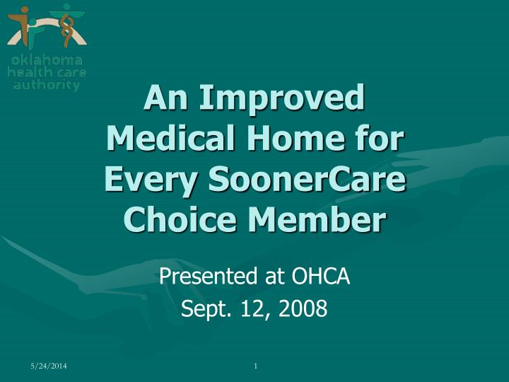 presented at ohca sept 12 2008 n.