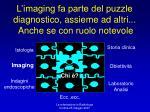 l imaging fa parte del puzzle diagnostico assieme ad altri anche se con ruolo notevole