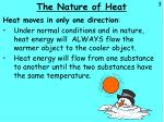 the nature of heat