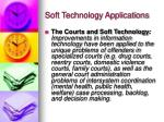 soft technology applications