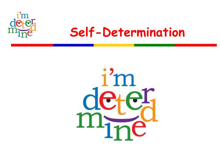 an introduction to self determination