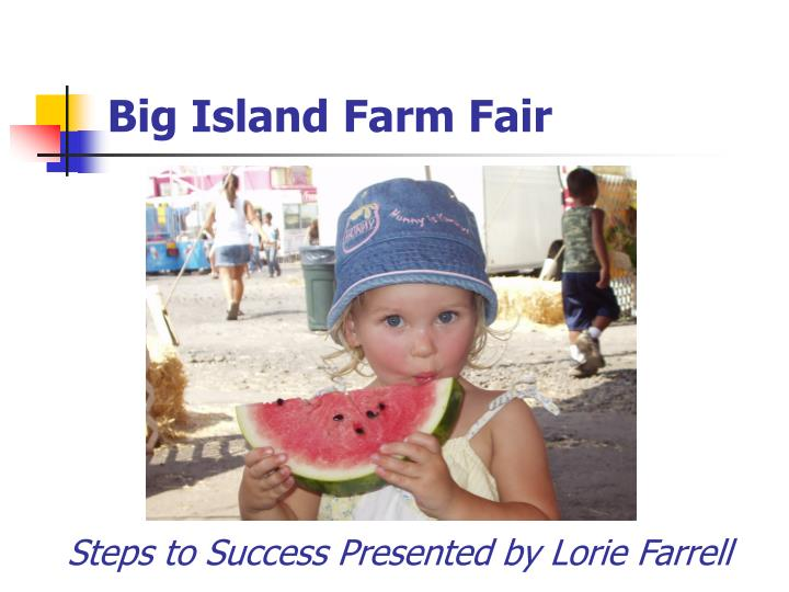 big island farm fair n.