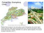 foshan city guangdong china