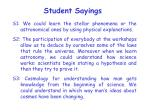 student sayings