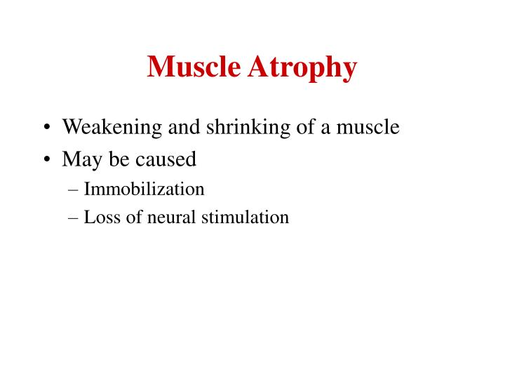 Muscle Atrophy