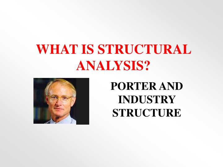what is structural analysis n.