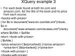xquery example 3
