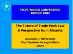 ficpi world conference berlin 2003
