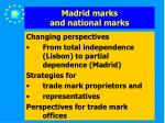 madrid marks and national marks